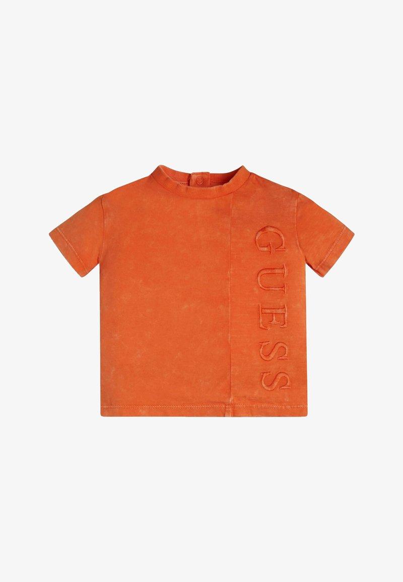 Guess - Print T-shirt - resort orange