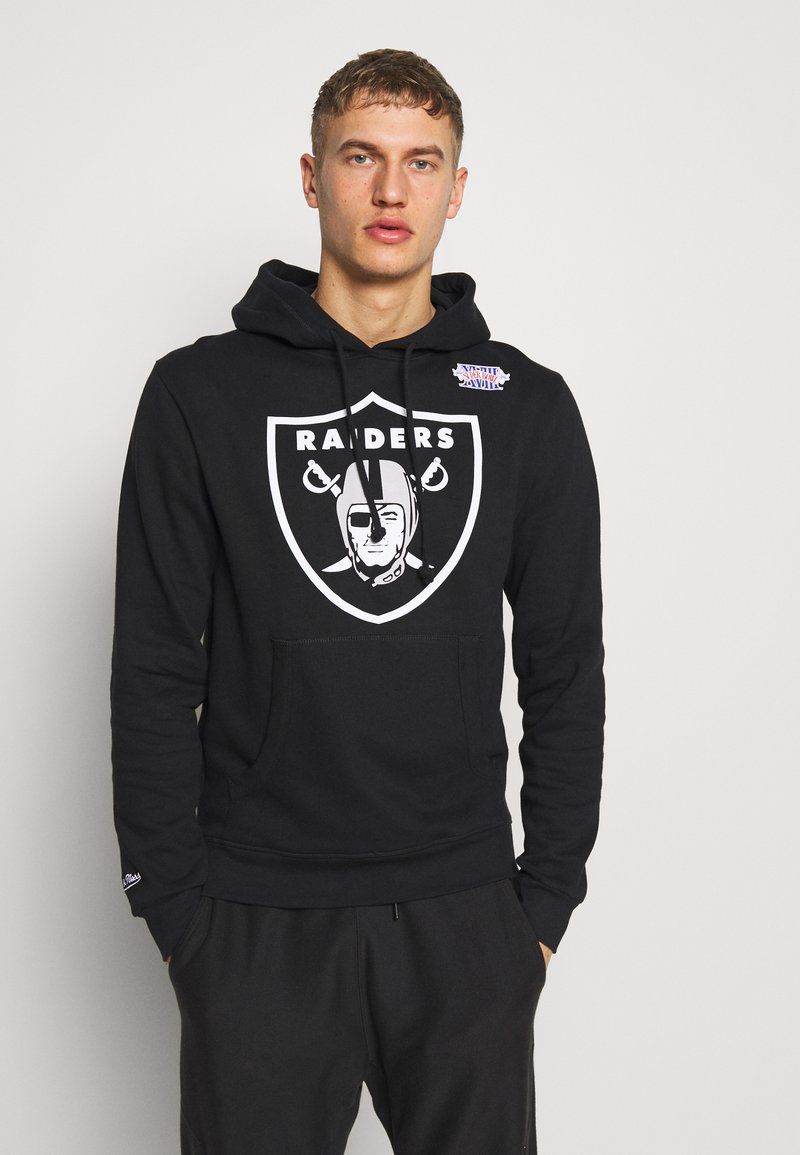 Mitchell & Ness - NFL OAKLAND RAIDERS HOWIE LONG THE 80S SUPERBOWL PACK HOODY - Article de supporter - black