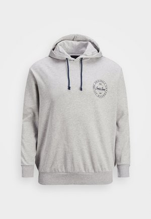 JORMOVE CREW IN HOOD - Hoodie - light grey melange