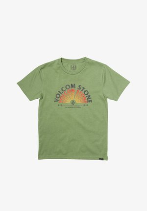 EMINATE HTH  - Print T-shirt - cactus_green