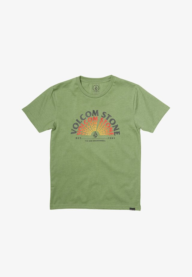 EMINATE HTH  - Print T-shirt - cactus_green