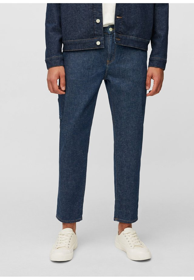 Slim fit jeans - multi neppy blue raw