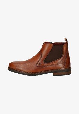 Classic ankle boots - amaretto