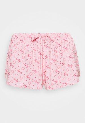 SHORT LUCKY - Pyjama bottoms - almond blossom