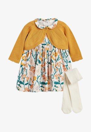 SET - Denní šaty - ochre