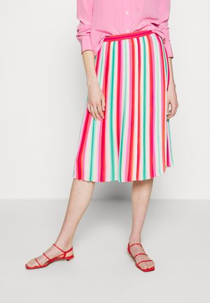 WATERMELON STRIPE QUEEN - A-line skirt - red/green/multi