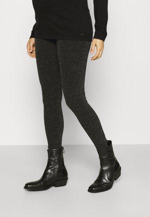 MLGLITTERY  - Leggings - Trousers - black