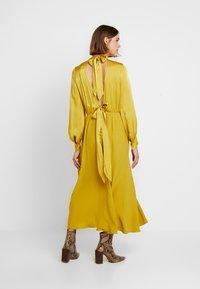 Ghost - RENAE DRESS - Vestito estivo - yellow - 3