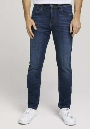 JOSH - Slim fit jeans - stone wash denim