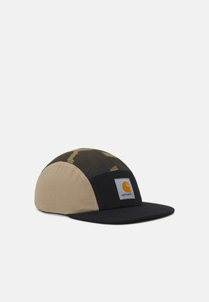 VALIANT UNISEX - Cap - black/air force grey