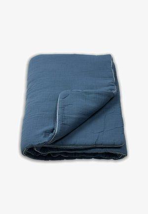 WITH BORDER - Couverture pour bébé - blue