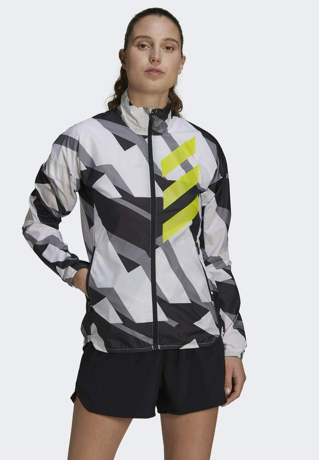 TERREX PARLEY AGRAVIC TRAIL RUNNING WIND.RDY WINDBREAKER - Windbreaker - white