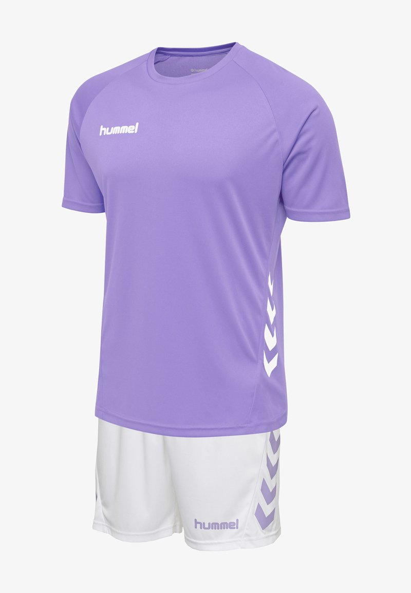 Hummel - DUO SET - Sports shorts - paisley purple/white