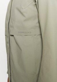 Didriksons - EDITH - Waterproof jacket - mistel green - 4