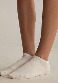 OYSHO - 5 PAIRS - Socks - white - 3