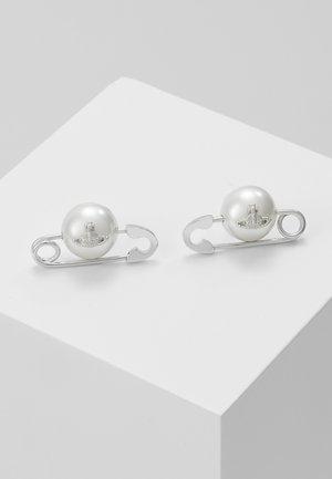 JORDAN EARRINGS - Earrings - silver-colured