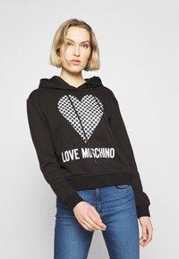 Love Moschino - Mikina skapucí - black - 0