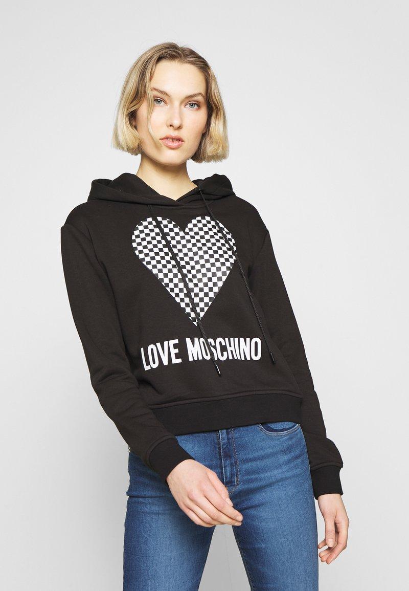 Love Moschino - Mikina skapucí - black