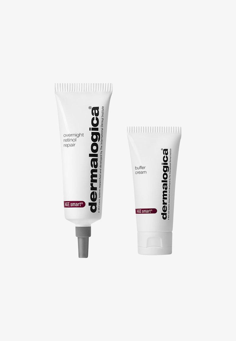 Dermalogica - OVERNIGHT RETINOL REPAIR 1% INKL. BUFFER CREAM  - Skincare set - -