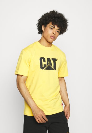 WHEELS PRINT TEE - Camiseta estampada - yellow