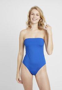 Monki - MALIN SWIMSUIT UNIQUE DROP - Swimsuit - blue - 3