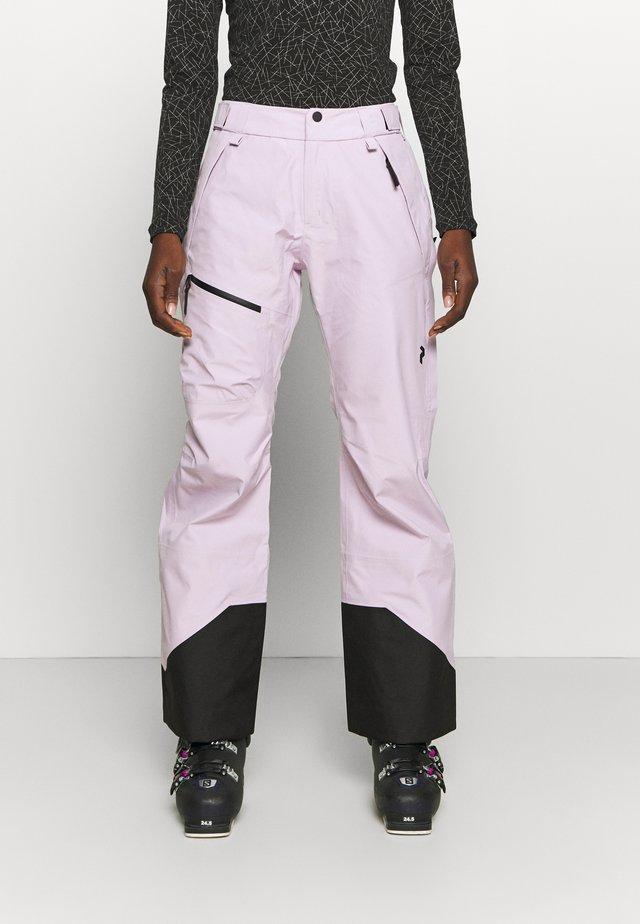 VERTICAL 3L PANTS - Talvihousut - cold blush