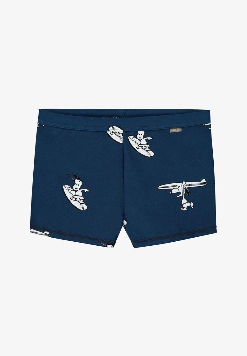 Shiwi - SNOOPY SURFER DUDE - Swimming briefs - poseidon blue