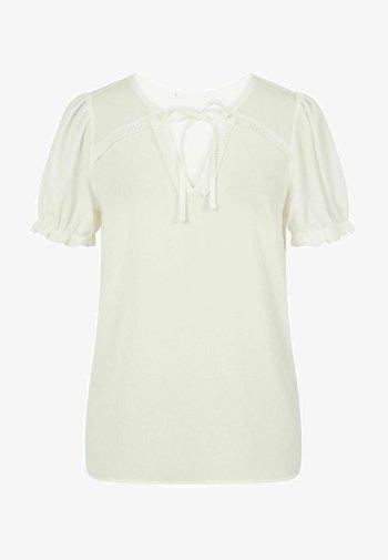 PENT - Basic T-shirt - ecru