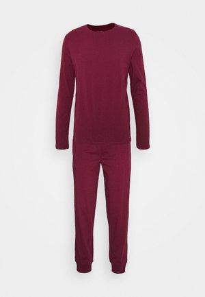 Pyžamová sada - bordeaux