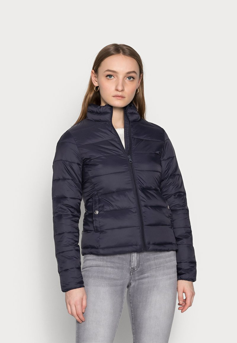 ONLY Petite - ONLSANDIE QUILTED JACKET - Light jacket - night sky