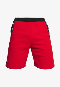 Lacoste Sport - SHORT TAPERED - Sports shorts - corrida/black - 4