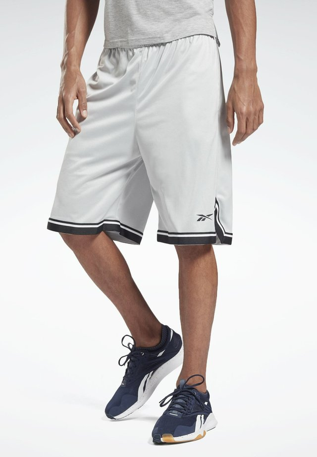 WOR MESH SHORT - Pantaloncini sportivi - grey