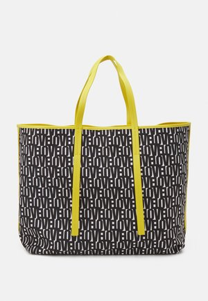 SHOPPER BAG SET - Tote bag - black/white