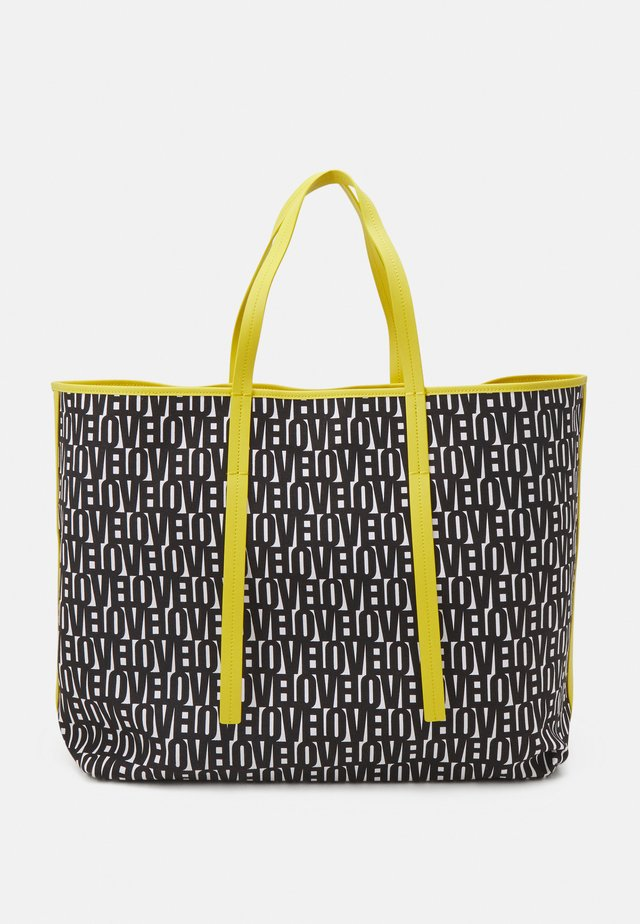 SHOPPER BAG SET - Shoppingväska - black/white