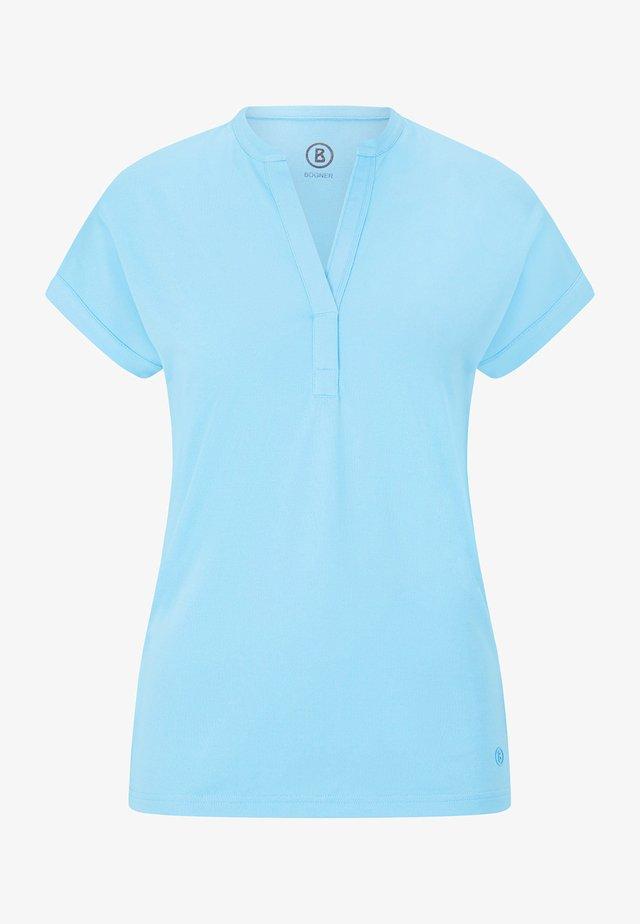 ELIN - Jednoduché triko - hellblau