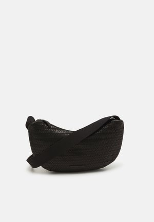 SOFT CROSSBODY POUCH - Across body bag - black