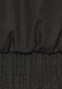 ONLY Carmakoma - CARLUCIA OFFSHOULDER CALF DRESS PLUS - Korte jurk - black - 7