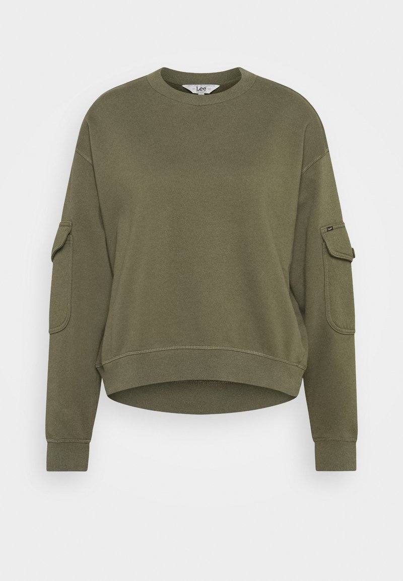 Lee - POCKET SWEATSHIRT - Sweatshirt - olive green