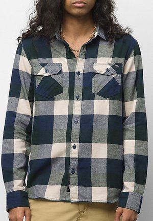 MN BOX FLANNEL - Shirt - dress blues/scarab