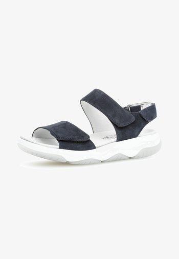 Walking sandals - nightblue