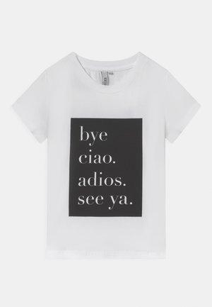 CIAO TEE - T-shirts print - bright white