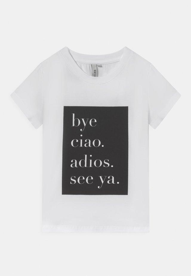 CIAO TEE - T-shirt print - bright white