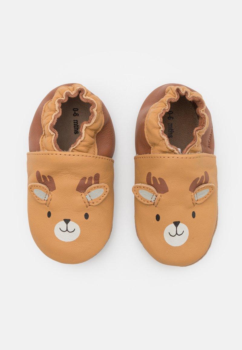 Robeez - BOREAL CARIBOU UNISEX - First shoes - camel/clair marron