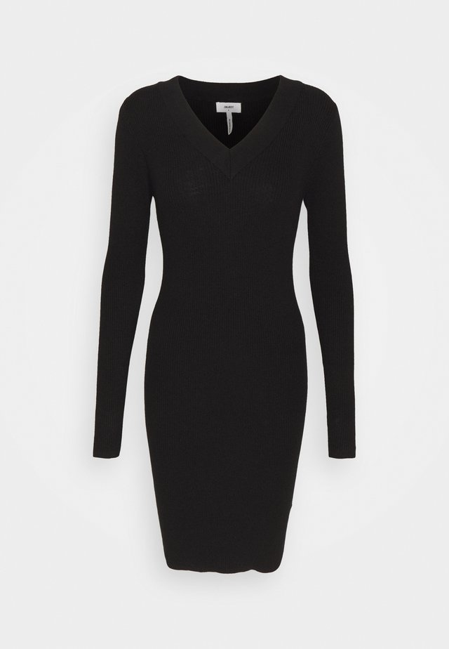 OBJFAE THESS DRESS - Jumper dress - black