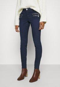 Mos Mosh - CHARLIE CORE ZIP - Slim fit jeans - dark blue - 0