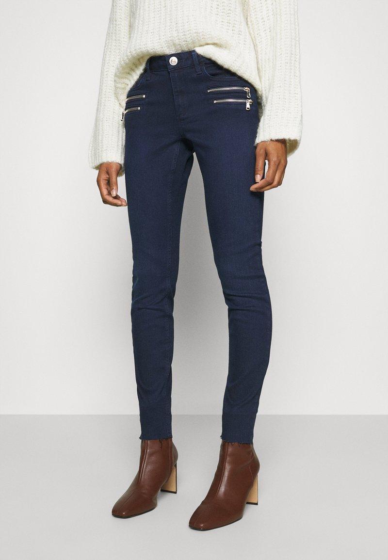 Mos Mosh - CHARLIE CORE ZIP - Slim fit jeans - dark blue