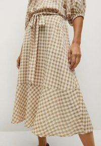 Mango - PICNIC - Maxi skirt - beige - 0