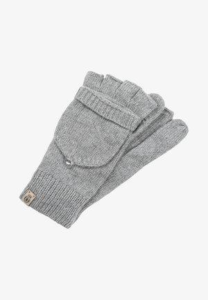 Fingerless gloves - anthracite