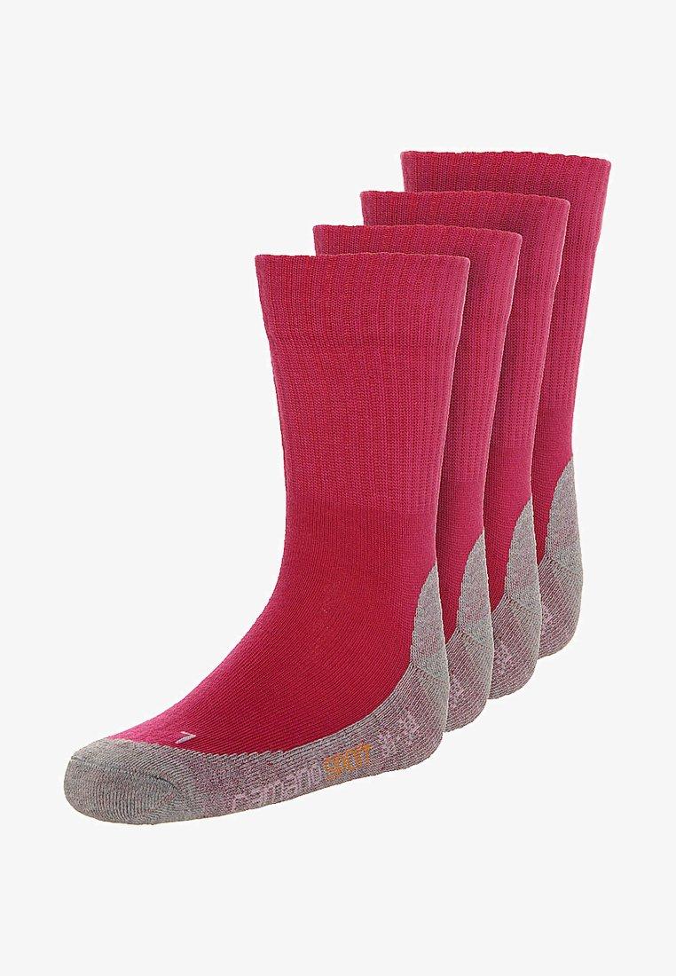 camano - 4 PACK - Socks - fuchsia