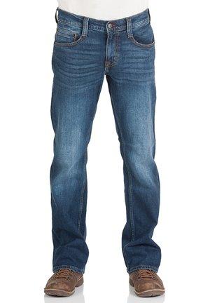 OREGON - Straight leg jeans - dark blue denim